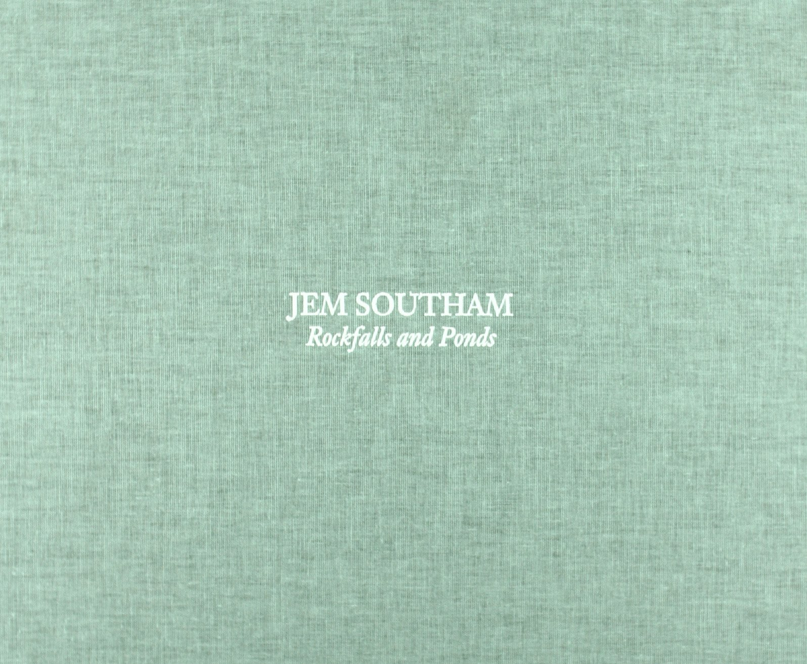 Jem Southam: Rockfalls and Ponds: Amazon.es: SOUTHAM, JEM ...
