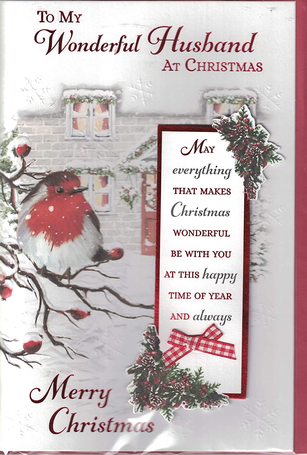 Prelude Husband Christmas Card - Merry Christmas To My Special ...