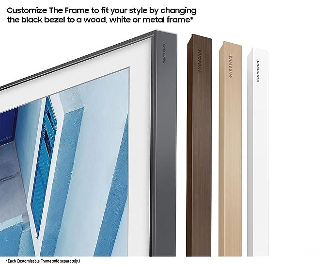 amazoncom samsung un65ls003afxza flat 65 led 4k uhd the frame smarttv 2017 electronics