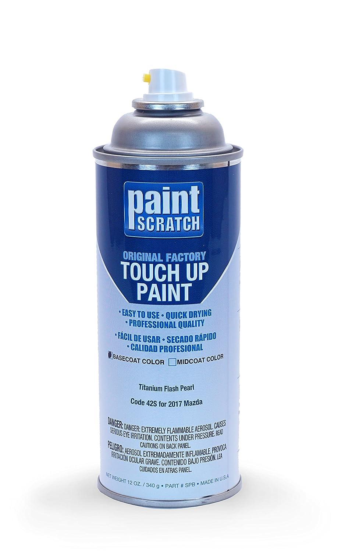 Amazon.com: PAINTSCRATCH 2017 Mazda CX-5 Titanium Flash Pearl 42S Touch Up Paint Spray Can Kit by Original Factory OEM Automotive Paint - Color Match ...
