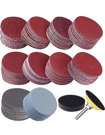 SIQUK 300 Pièces Disques de Ponçage 50mm Disques Abrasifs Grain 80 180 240