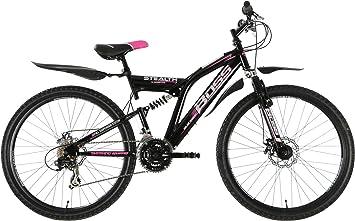 BOSS B2614094 - Bicicleta para Mujer, 26 in, Color Rojo: Amazon.es: Deportes y aire libre