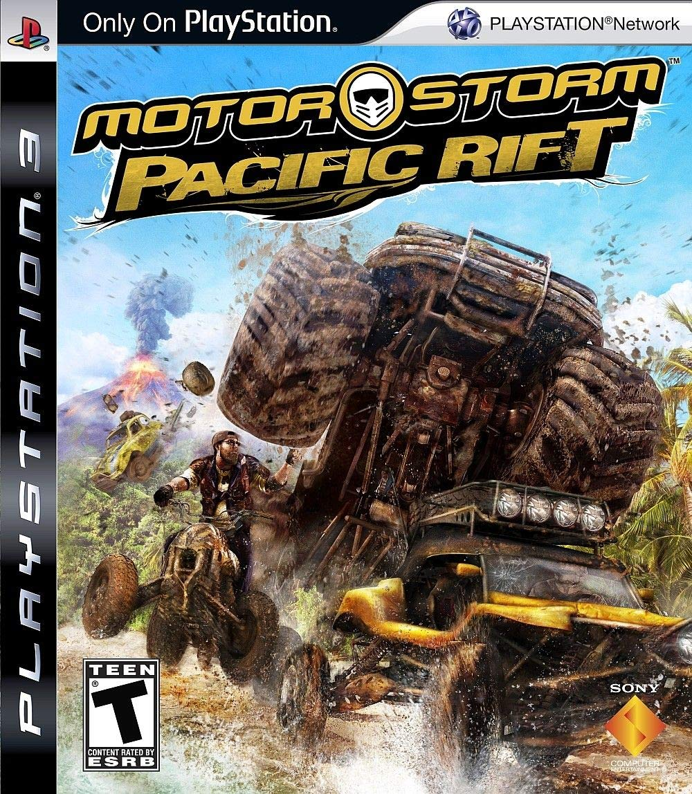 MotorStorm: Pacific Rift (SEMINUEVO)