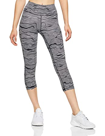 211991b21aca3 adidas Women's Ultimate Fit/AOP Tights 3/4, Womens, CX5282, white ...