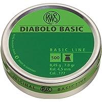 RWS DIABOLO BASIC 4,50 mm 0,45 g/6,95 g (500 szt.)