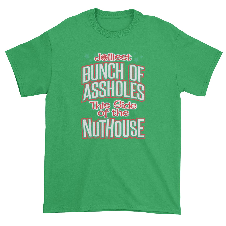Expression Tees Jolliest Bunch Of A**holes Mens T-shirt 1204-M