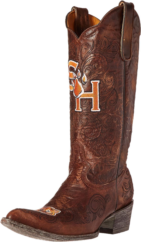 NCAA Sam Houston State Bearkatsレディース13インチGamedayブーツ ブラス 9.5 B (M) US