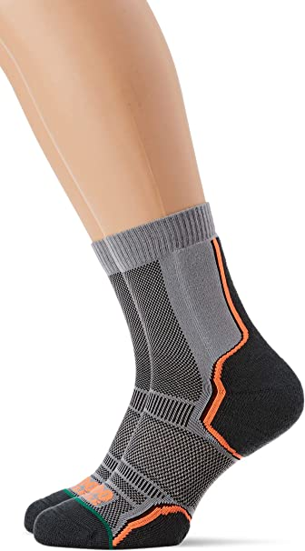 1000 Mile Trail Twin Pack - Calcetines para correr Hombre: Amazon ...