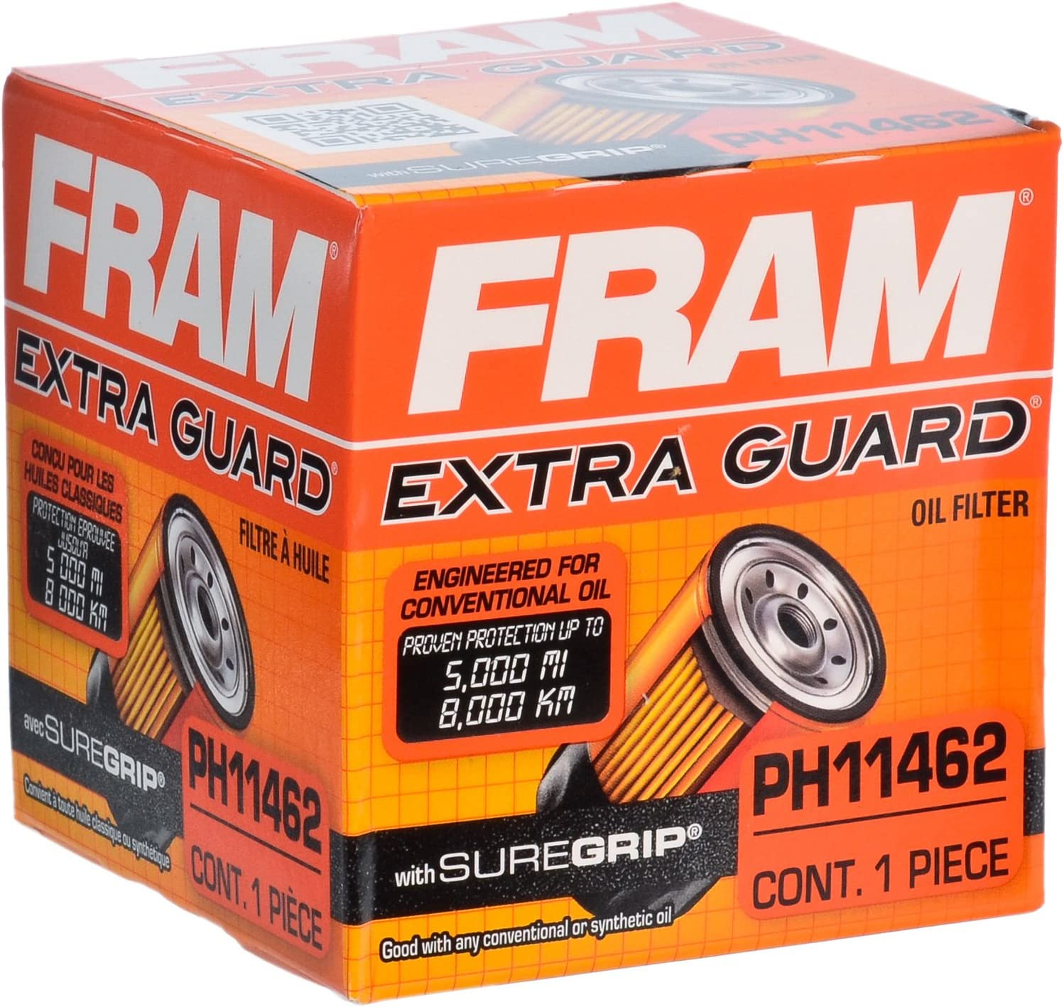 FRAM PH11462 Full Flow Lube Spin-On Oil Filter
