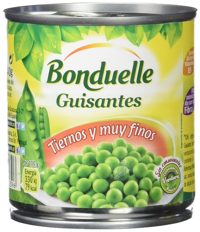 Bonduelle - Guisantes, 200 gr, Pack de 8: Amazon.es: Alimentación y bebidas