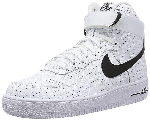 Nike Men's Air Force 1 High '07 Sneakers, Black (White/Black/