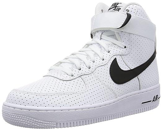 Nike Air Force Noir Et Blanc 1 Formateurs Détestent