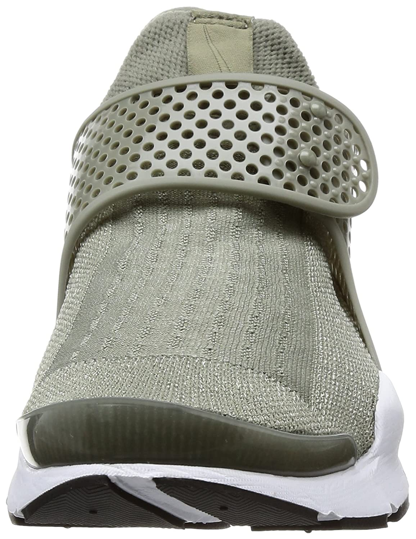 size 40 5680d c8183 Amazon.com   Nike Sock Dart Women s Running Shoes Dark Stucco White-Black  848475-005   Road Running