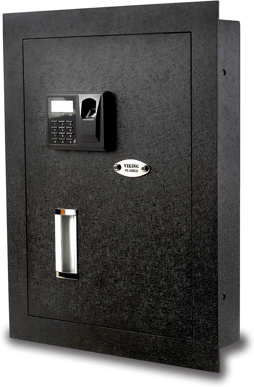 Viking Security VS-52BLK Biometric Fingerprint