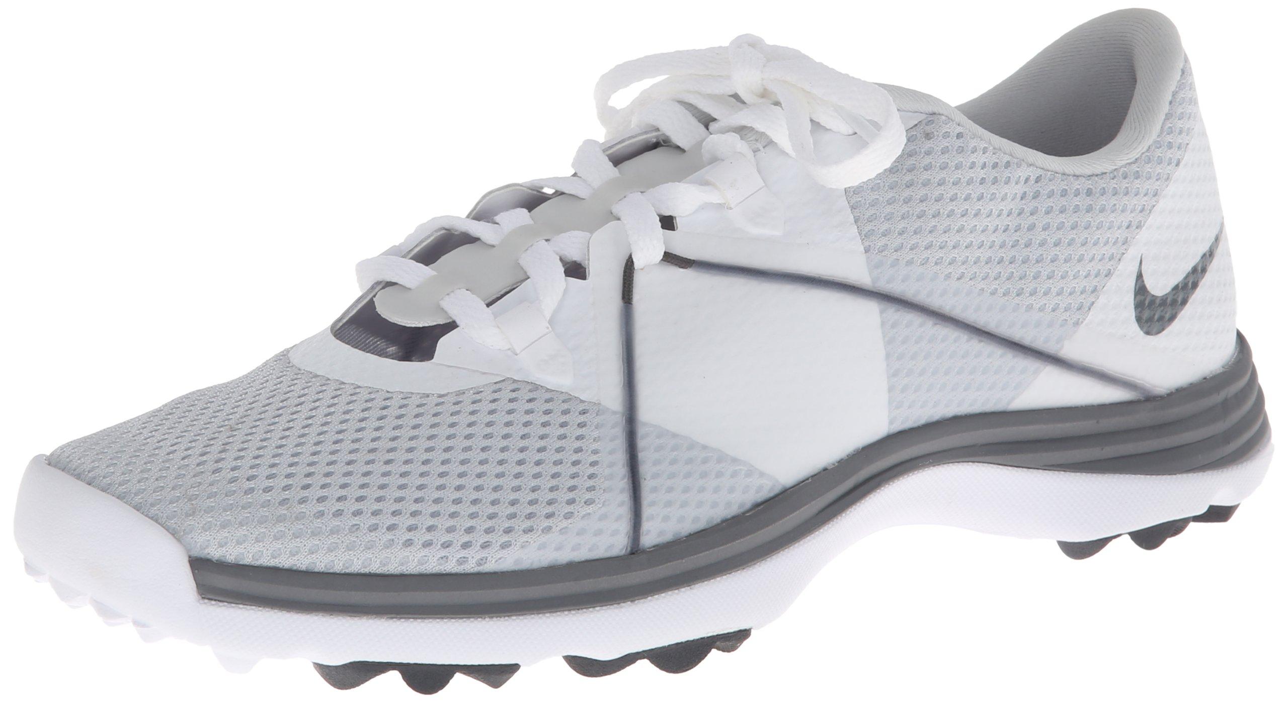 NIKE Golf Women's Lunar Summerlite2 Golf Shoe, Pure Platinum/Cool Grey/White, 7 B(M) US