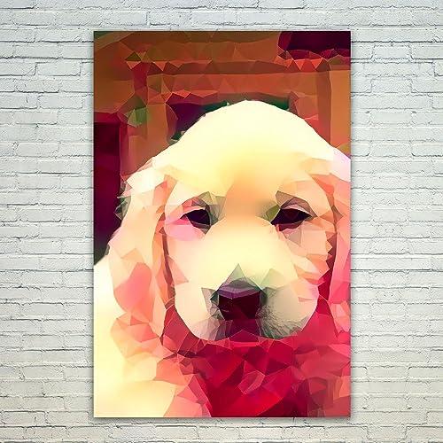 Amazon.com: Westlake Art - Poster Print Wall Art - Dogs Golden ...