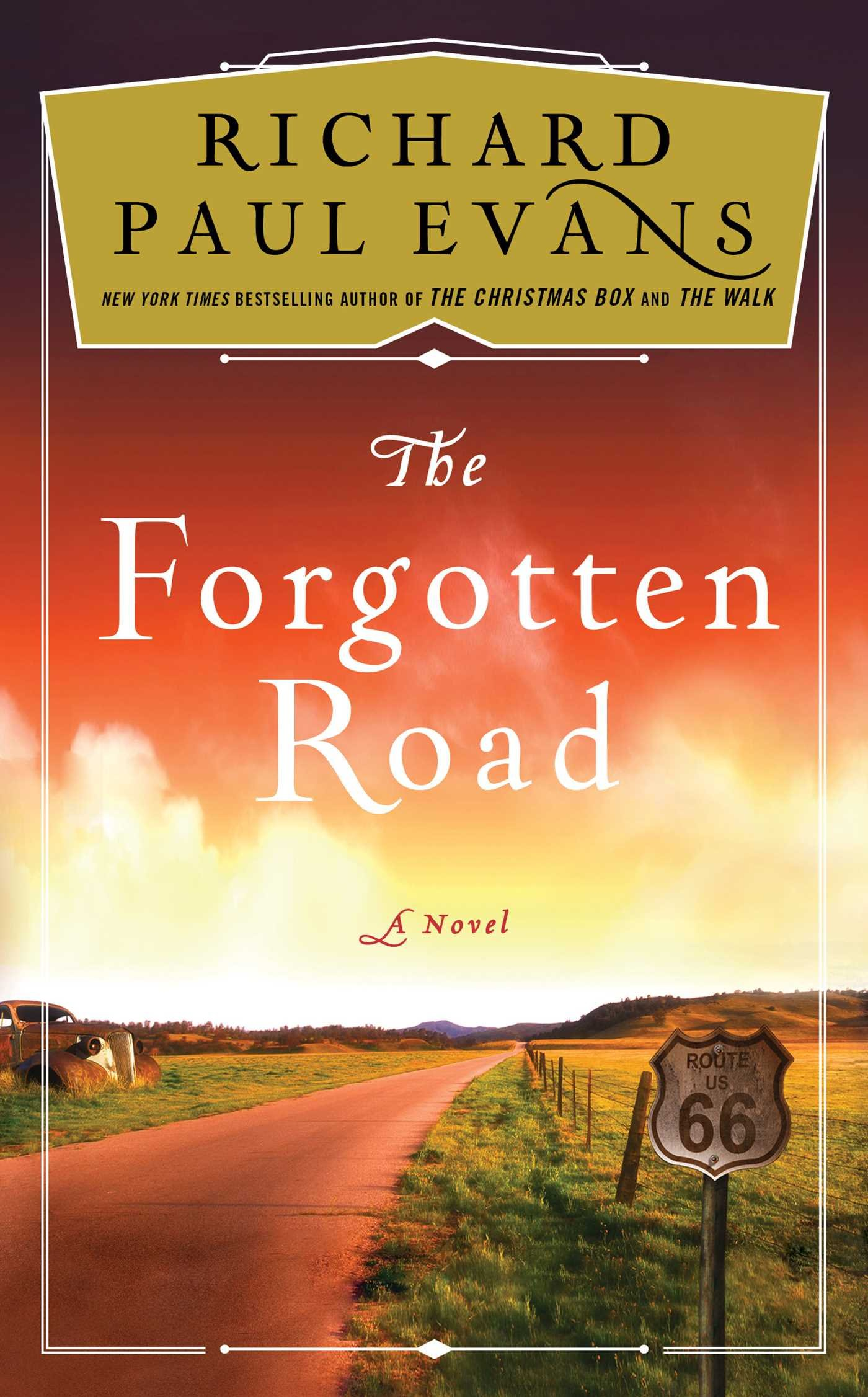 56128bf25 The Forgotten Road (The Broken Road Series)  Richard Paul Evans ...