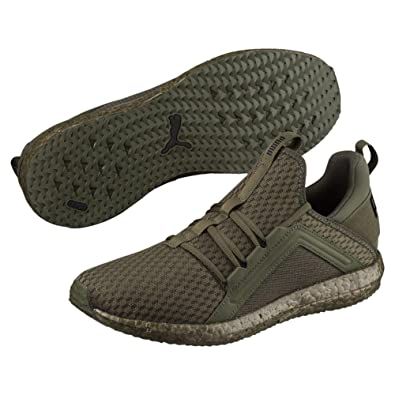 61e7c32ea4e72c Puma Men s Mega Nrgy Forest Night and Black Running Shoes-6.5 UK India  (38.5 EU) (19036807)  Buy Online at Low Prices in India - Amazon.in