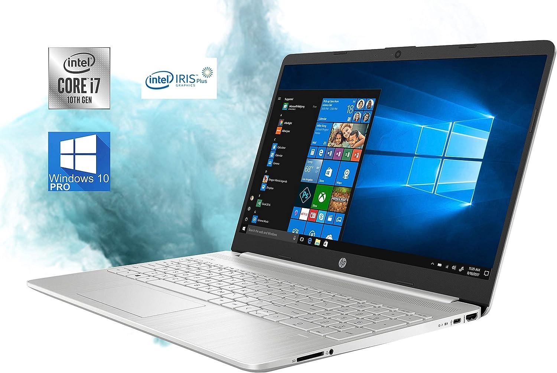 "HP 15.6"" HD LED Premium Laptop Computer - 10th Gen Intel Core i7-1065G7 Upto 3.9GHz, 32GB RAM, 1TB NVMe SSD, AC Wi-Fi, Bluetooth, SD Card Reader, Webcam, HDMI - Windows 10 Pro"