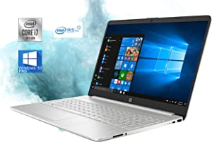 "HP 15.6"" HD LED Premium Laptop Computer - 10th Gen Intel Core i7-1065G7 Upto 3.9GHz, 32GB RAM, 1TB NVMe SSD, AC Wi-Fi, Bluetooth, SD Card Reader, Webcam, HDMI - Windows 10 Pro"