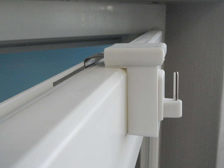 10 x ganci per finestra ganci decorazione finestra clip per finestre decorazione bianco - Tende finestre pvc ...