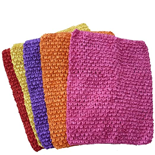 Amazon Crochet Tutu Tops Kadiwow 9 Inch Crochet Headbands