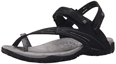 Merrell Women's Terran Convertible II Sandal, Black, ...