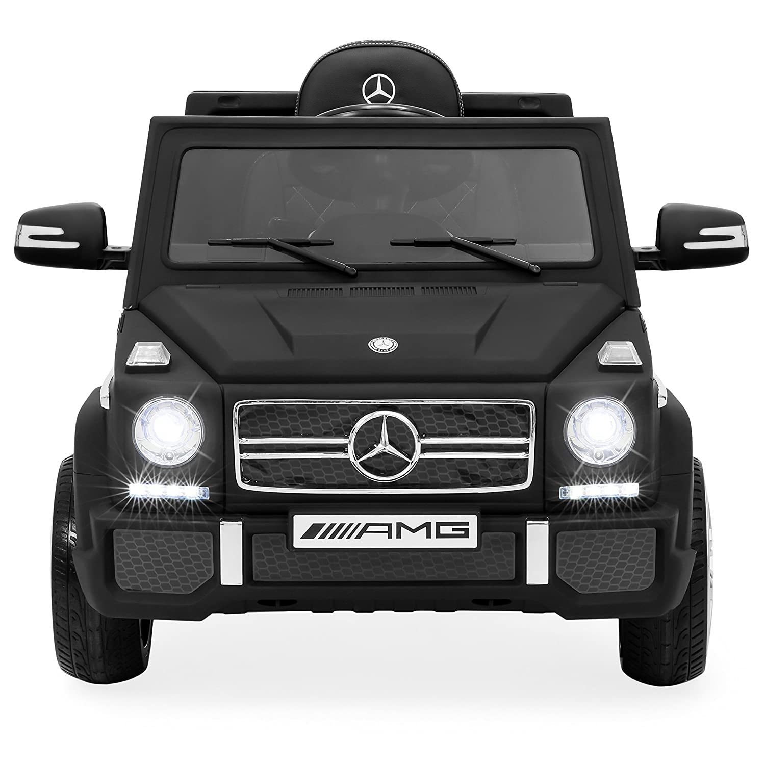 Amazon.com: Best Choice Products 12V Kids Battery Powered Licensed Mercedes- Benz G65 SUV RC Ride-On Car w/ Parent Control, Built-in Speakers, LED  Lights, ...