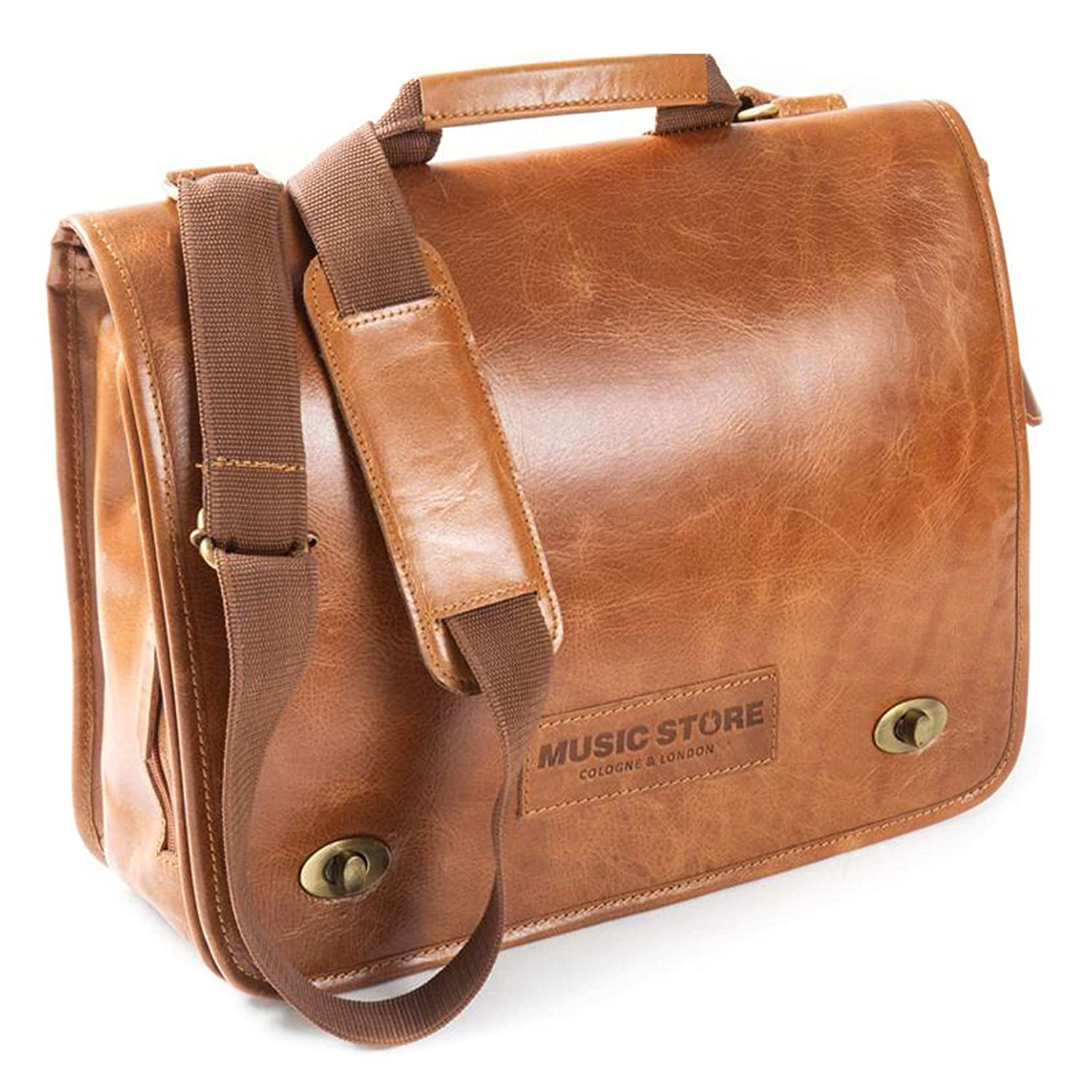Executive Bag Leather Natural EXB-01MTN/L MUSIC STORE