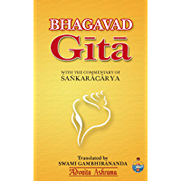 Bhagavad Gita : With the commentary of Shankaracharya (English Edition)