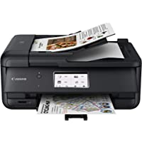 Canon PIXMA TR8620 Wireless Home Office All-in-One Inkjet Printer with ADF, Black (4451C003)