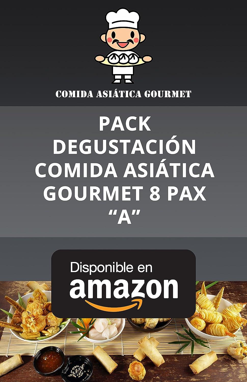 PACK DEGUSTACIÓN COMIDA ASIÁTICA GOURMET 8 PAX COMIDA ASIÁTICA MÁS ALLÁ DEL SUSHI: Amazon.es: Alimentación y bebidas