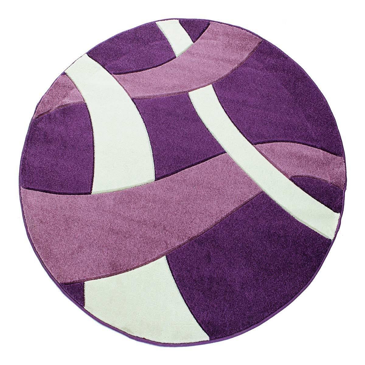 Excellent tappeto moderno rotondo x cm mod twist carvino - Tappeto rotondo ikea ...