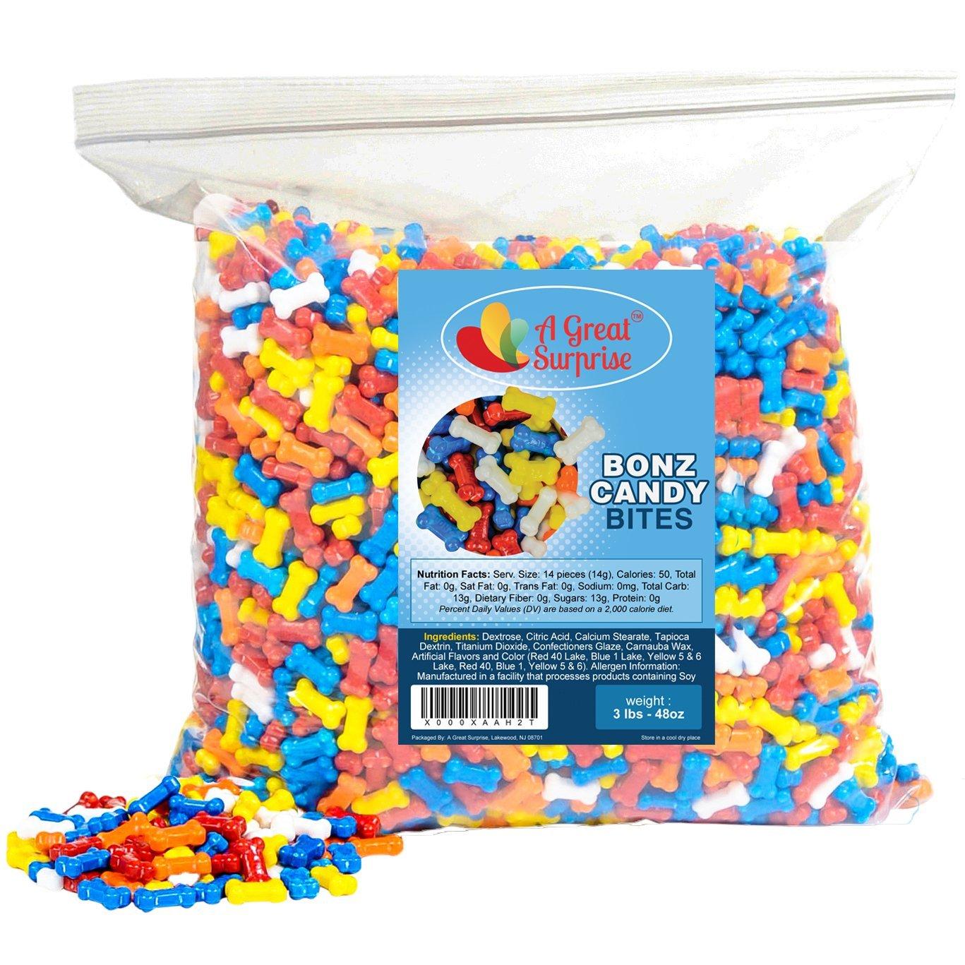 Amazon.com : Candy Bones - Candy Bonz - Dog Bone Shape Candy ...