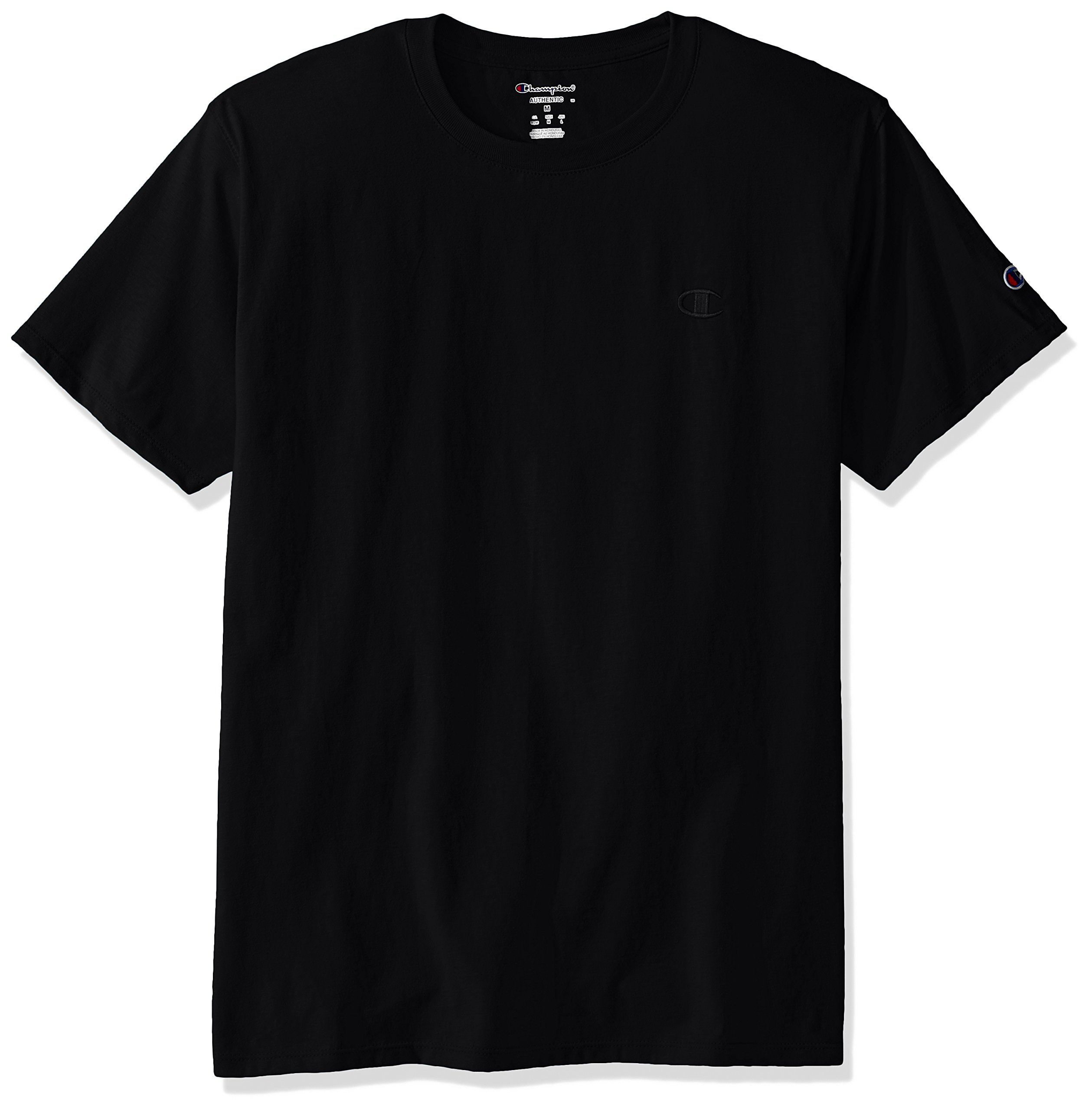 Champion Men's Classic Jersey T-Shirt, Black, M by Champion