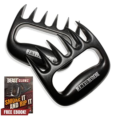 Grill Beast Pulled Pork Shredder Claws - MEAT SHREDDING FORKS - BBQ Grilling Accessories from