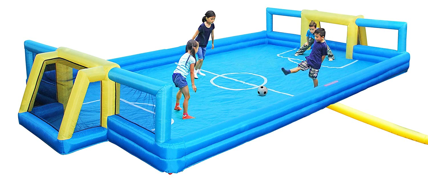 7. Sportspower Inflatable Soccer Field