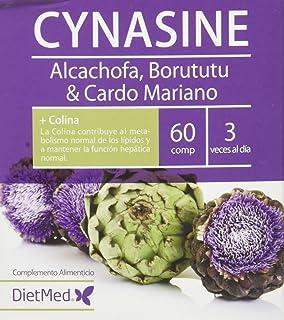 DietMed Cynasine, Complemento Alimentico con Alcachofa, Borututu y Cardo Mariano, 60…