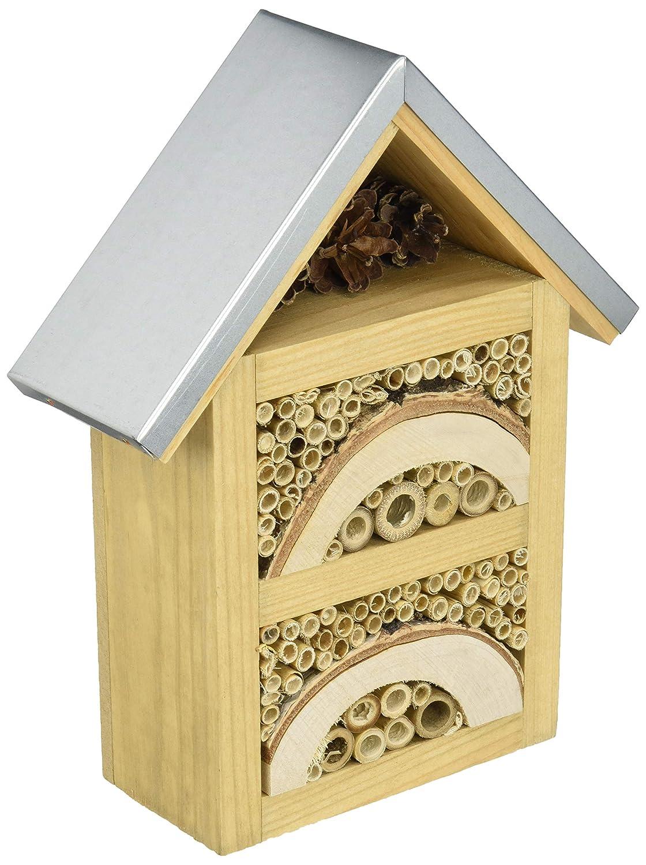 Natures Haven Garden Insecte Maison avec Toit en métal Westland