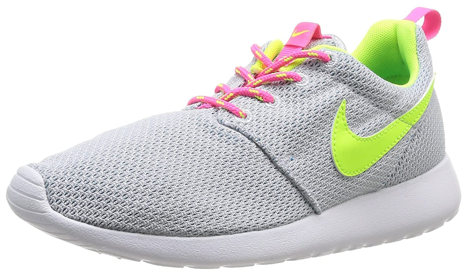 hot sale online 698f4 796c4 Amazon.com   Nike Roshe Run Grey Youths Trainers 5.5Y US   Running