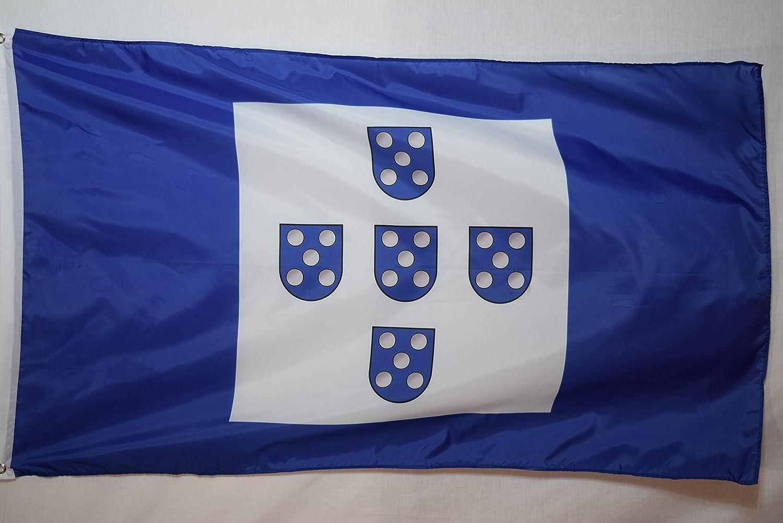 Portugal National Union Blue Historical Garage Basement Flag 3x5 Garden Outdoor