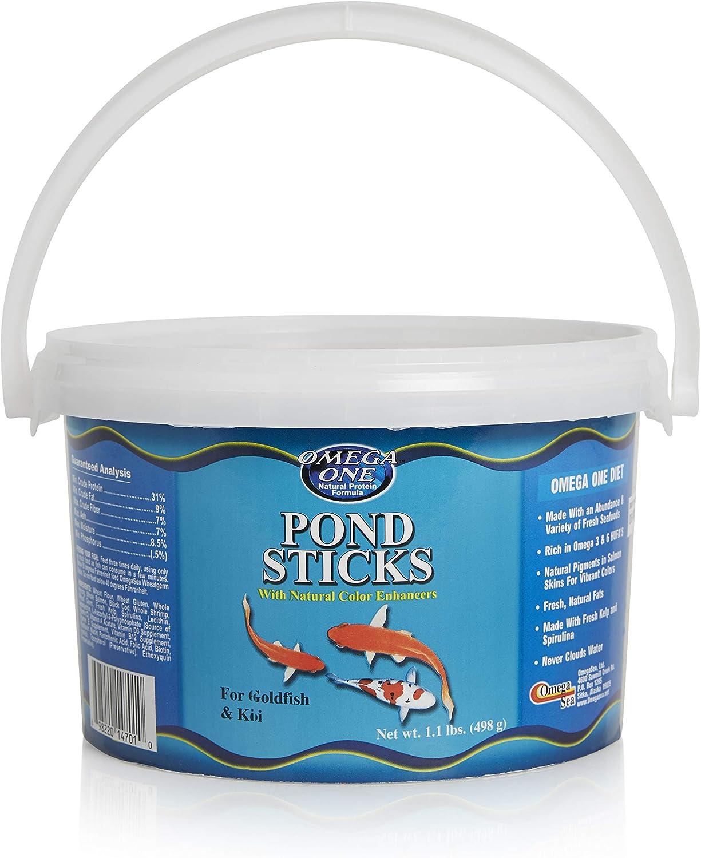 Omega One Pond Sticks, Floating 11mm Pellets