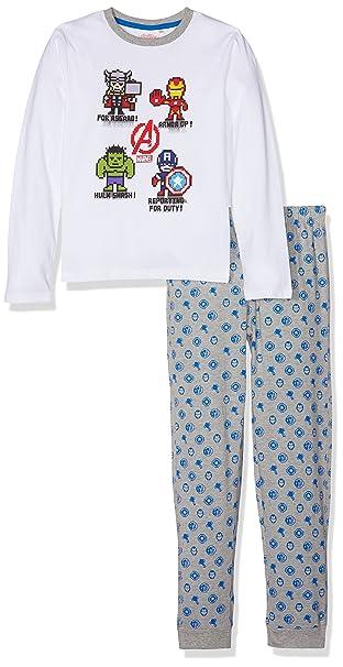Z Pyjama Avengers, Conjuntos de Pijama para Niños, Blanco (Blanc 01), 3 Años: Amazon.es: Ropa y accesorios