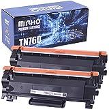 MIRHO Compatible Toner Cartridge Replacement for Brother TN760 TN-760 TN730 for HL-L2350DW HL-L2390DW HL-L2395DW HL-L2370DW D