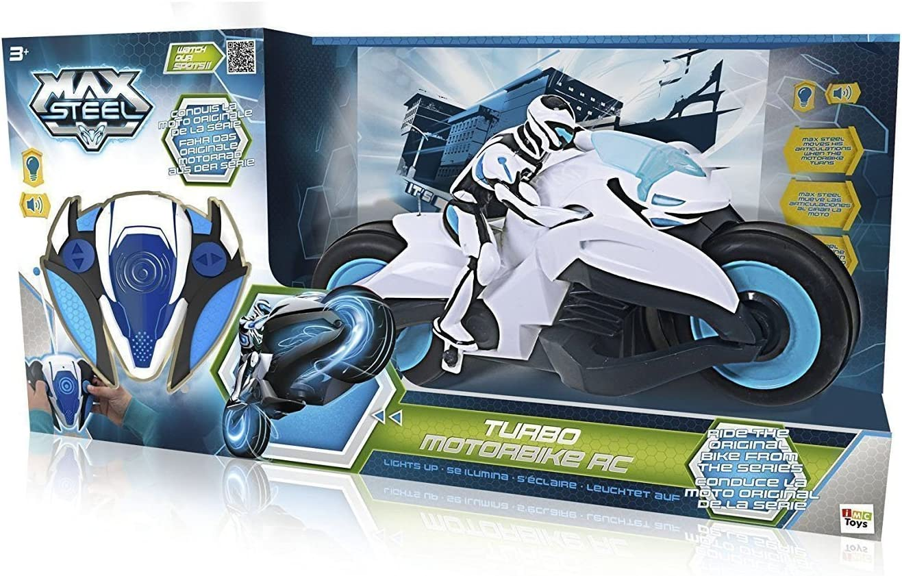 MAX STEEL MOTORBIKE RC -CR13-CR14-