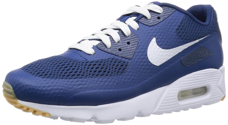 Nike Herren Air Max 90 Ultra Essential Laufschuhe  42.5 EU|Azul (Coastal Blue / White-cstl Blue)
