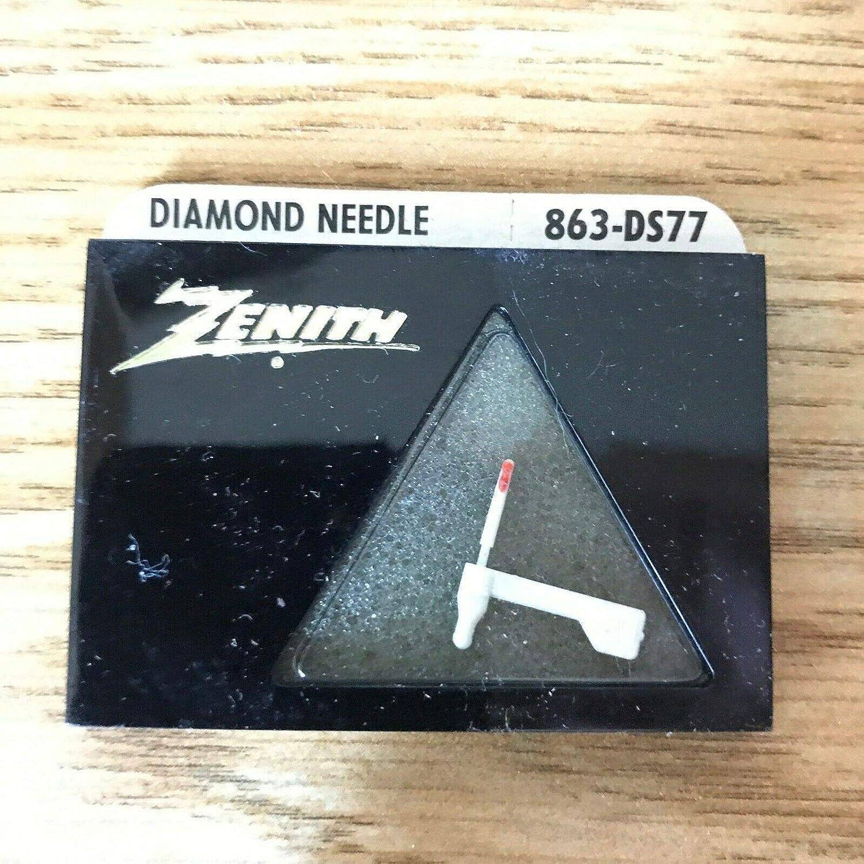 NOS Zenith Diamond 863-DS77 - Aguja para tocadiscos de ...