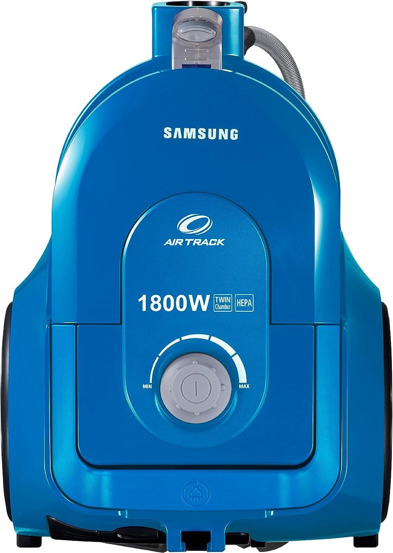 Samsung SC-4355B - Aspiradora sin bolsa (1800 W, sistema de cámara doble, filtro HEPA), color azul: Amazon.es: Hogar