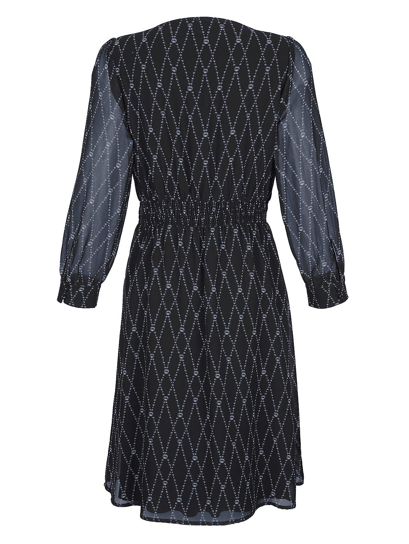 a995e673fae8 Alba Moda Damen Kleid im exklusivem Print Fließend niska cena - www ...