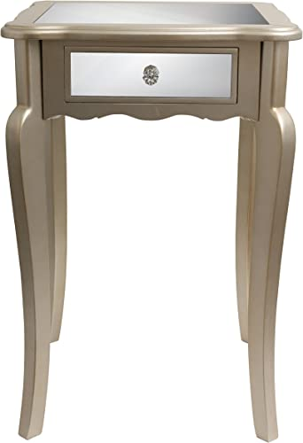 D cor Therapy FR1793 End Table, Silver